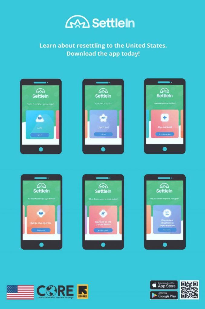 The SettleIn app